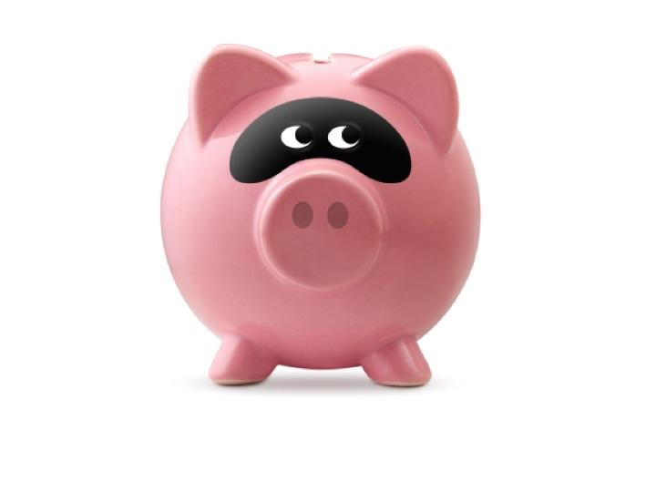 Blog 8 - single pink piggy savings bank